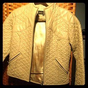 Baby Phat Carmel Leather jacket